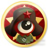 Lei Feng re-imagined as the logo for Sina Weibo.