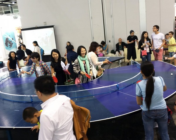 ArtBaselHK2014TableTennis