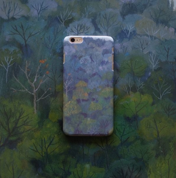 Oamul illustration phone case