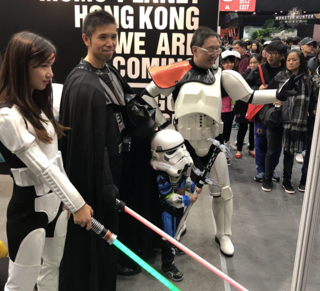 Star Wars cosplay at Toy Soul
